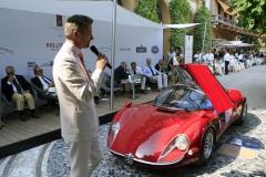 COPPA D'ORO VILLA D'ESTE winner 2018 Alfa Romeo 33/2 Stradale