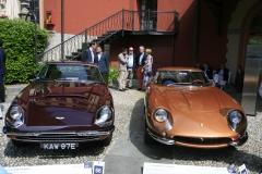 Aston Martin DBS C and Ferrari 275 GTB/4