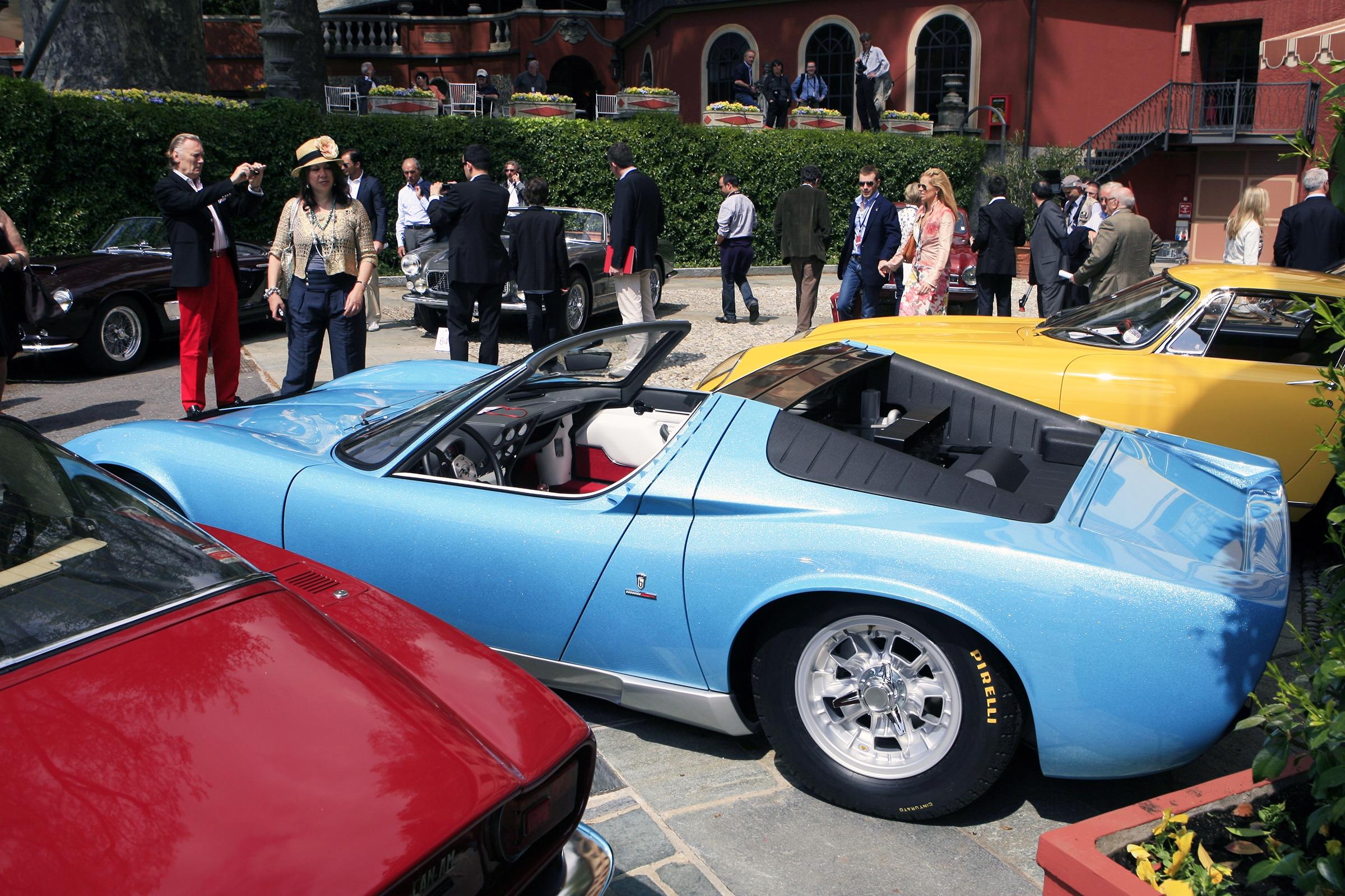 Saturday unique cars on display: One-off LAMBORGHINI - MIURA roadster