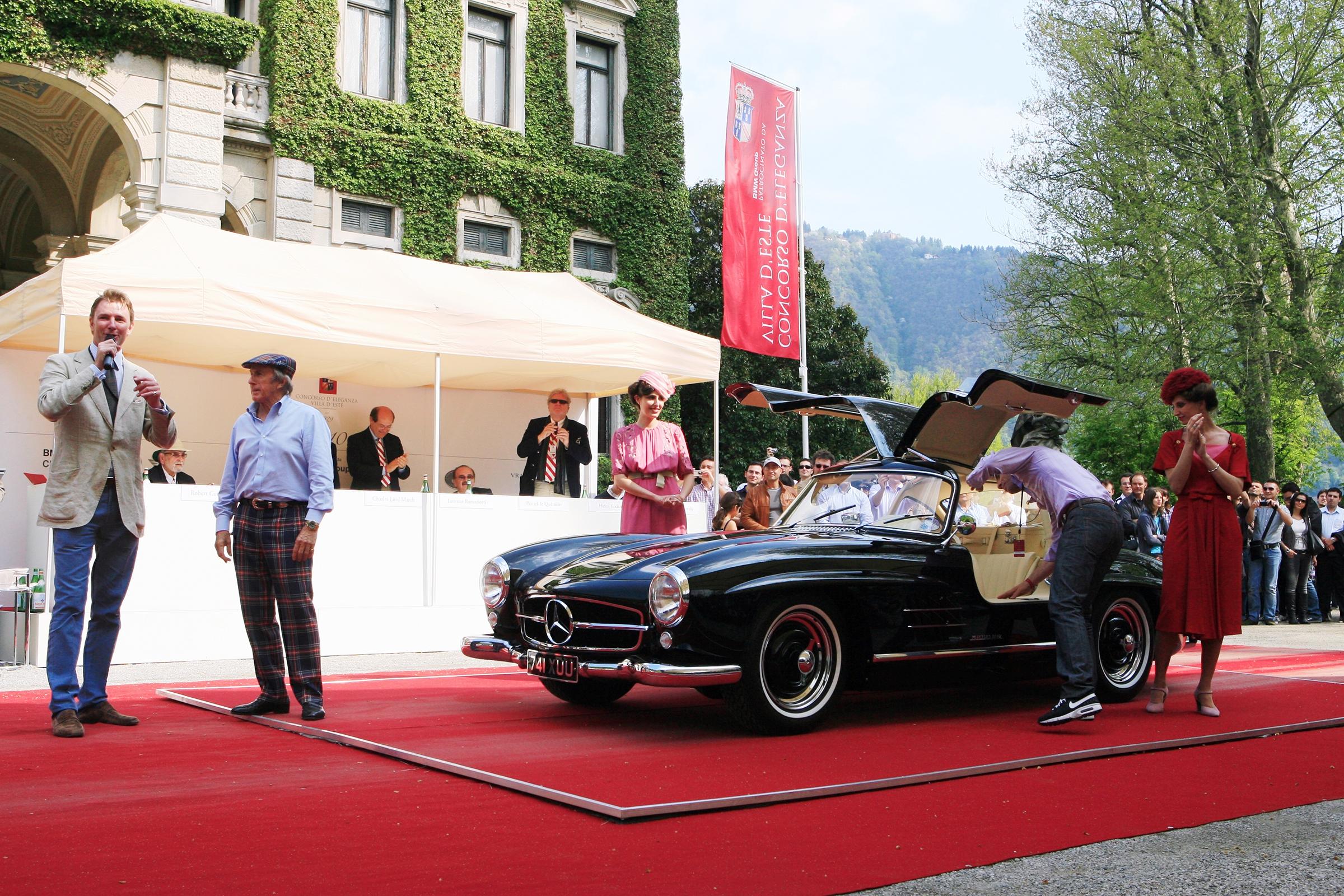 Sunday Moods  - Sir Jackie Stewart at the parade at Villa Erba