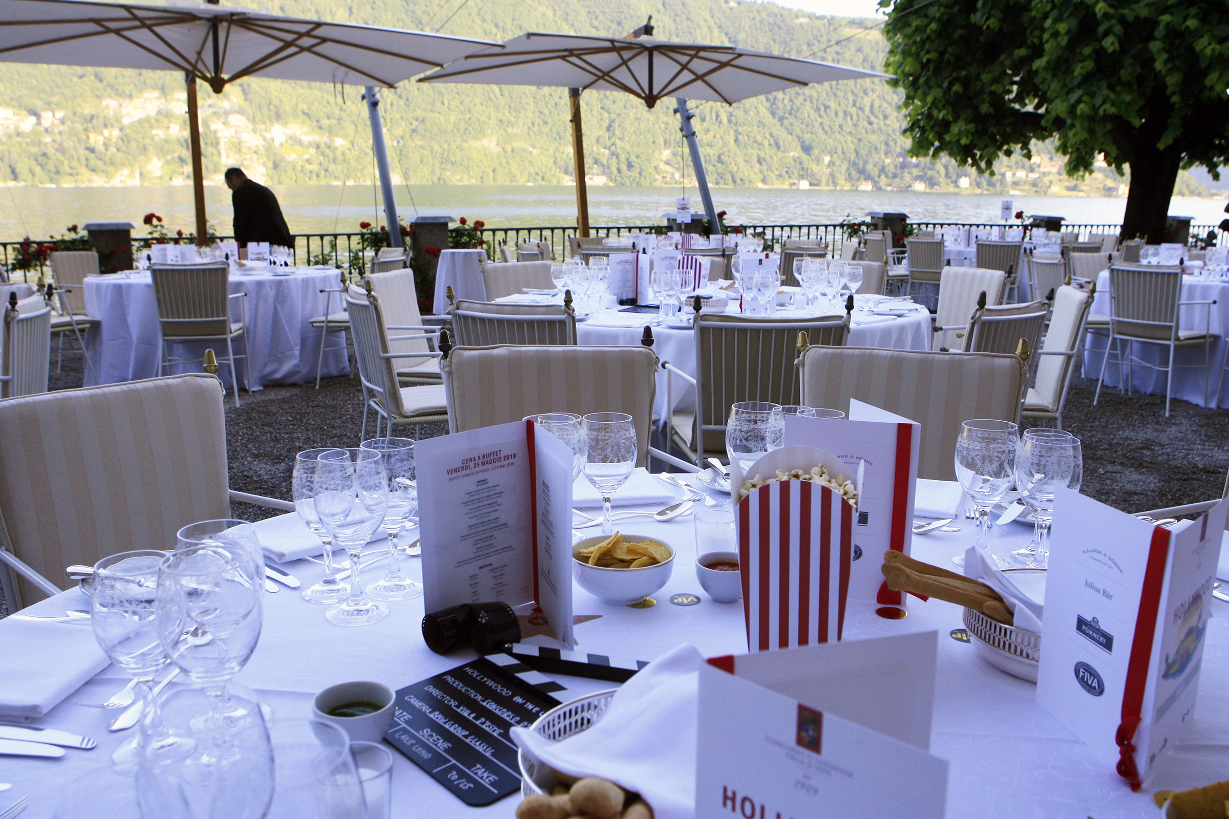 Friday ambiance - diner Concorso style