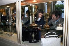 The covoted COPPA D'ORO VILLA D'ESTE trophies