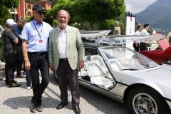 Saturday ambiance - owner and chief test driver of Lamborghini  Valentino Balboni