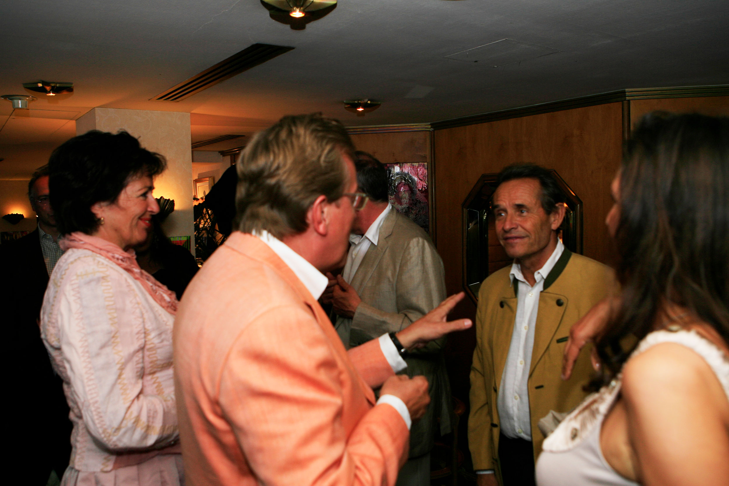 Cruise to Se7en guest could meet Jacky Ickx very personal