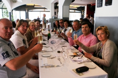 Reserving a table at La Rascasse during the F1 for Cruise to Se7en guests