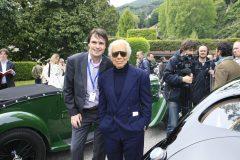 Ralph Lauren with Cruise to se7en founder Léon Beenen at Villa d'Este