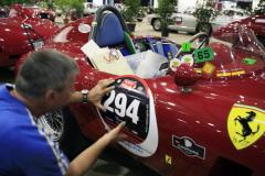 Start number 294 - Ferrari 750 Monza