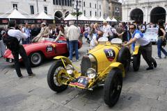 19 - BUGATTI Type 35 A (1925) s/n 4338  and 293 - FERRARI 750 Monza (1955) s/n 0534MD