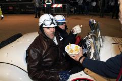 Cento arrival with BMW Chief designer Adriaan van Hooydonk