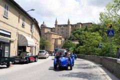 Urbino arrival