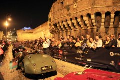 Arrival tappa 2 in Rome at the ceremony held at Castel Sant' Angelo