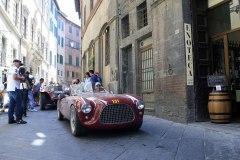 """131 FIAT 1100 S Colli Barchett (1951) """"GE 213329"""" Bricchetti (I) - Arcangeli (I)"""