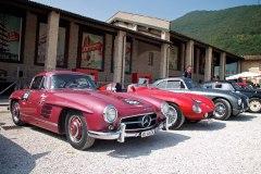 254 MERCEDES-BENZ 300 SL  W198-I (1955) s/n 1980405500576 Carreras (CH) - Pascual (D)