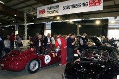 Mille Miglia Moods - Paddock Check-in Area  ( Administrative checks and scrutineering)
