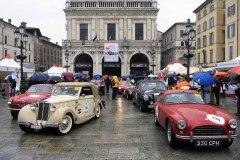 Mille Miglia Moods - sealing Piazza della Loggia