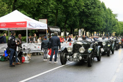 Bentley Boys arriving muscular . 29 - Frech (D) + Zöllter (D) BENTLEY 4 1/2 Litre Supercharged1929MM