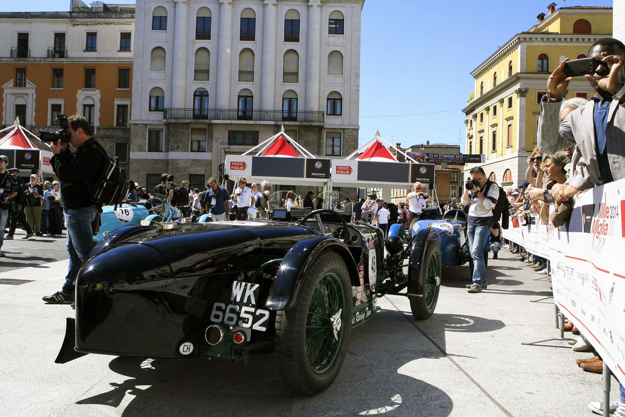 45  -NESSI Ferruccio (CH) + NESSI Carlo (CH) - Riley 9 Brooklands speed (1928)