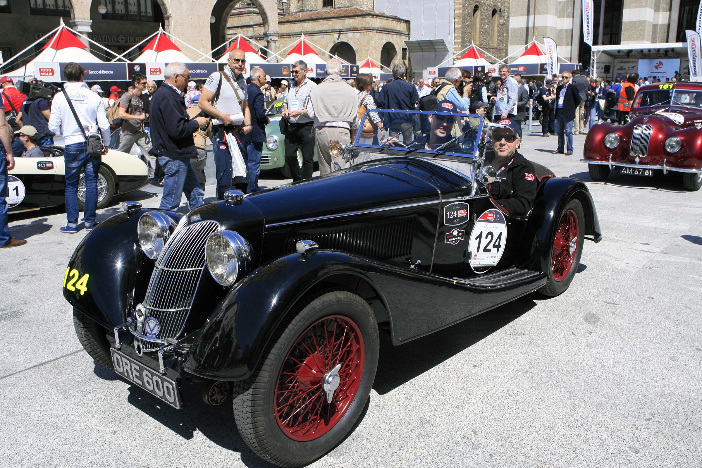 124 - BOLLEN Niels (B ) + BOLLEN Jos (B) - Riley Sprite TT  (1938)