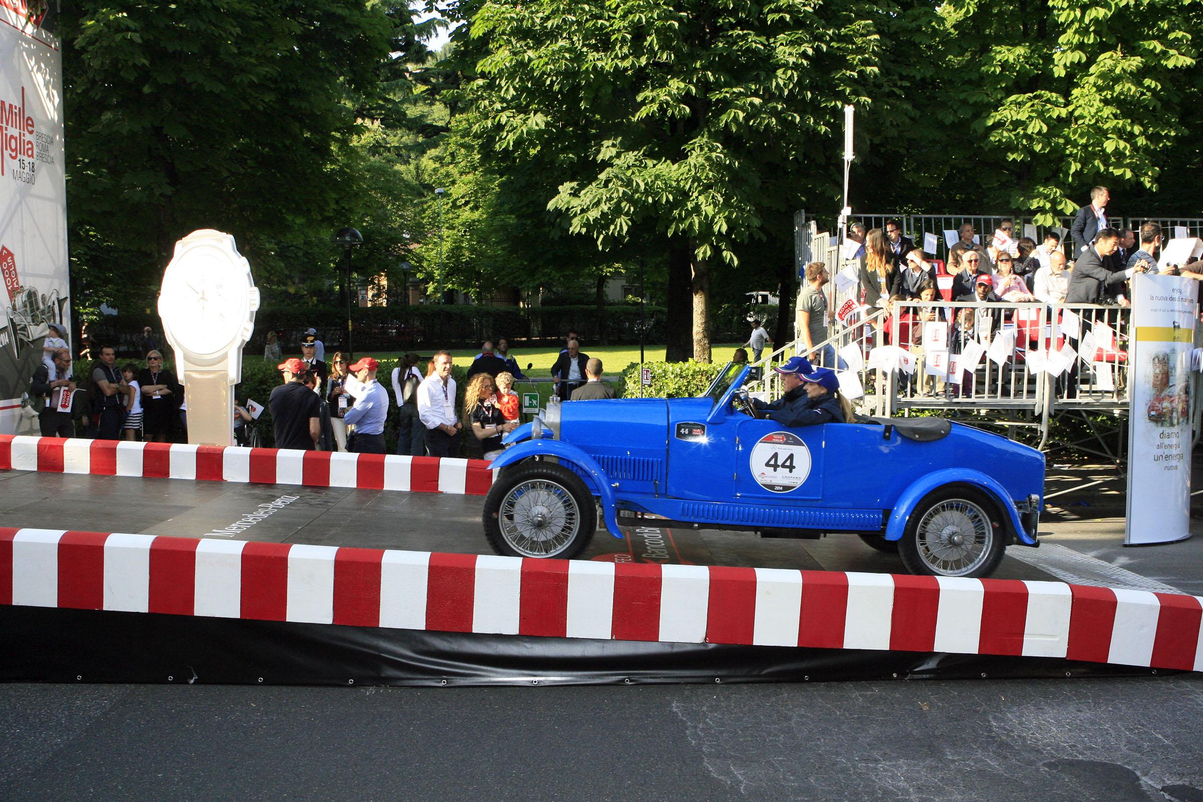 44 SALVIATO Ezio Martino I MOGLIA Maria Caterina I Bugatti T 40 1927