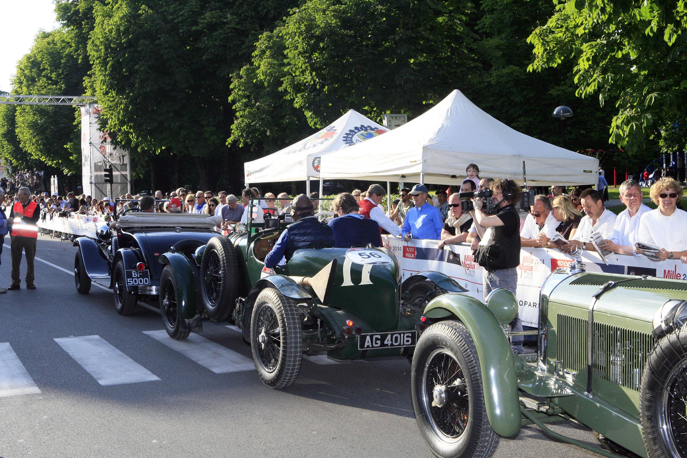 56 - SCHENK Christian (A) + BAHL Erwin -Bentley 4.5 Litre (1929)