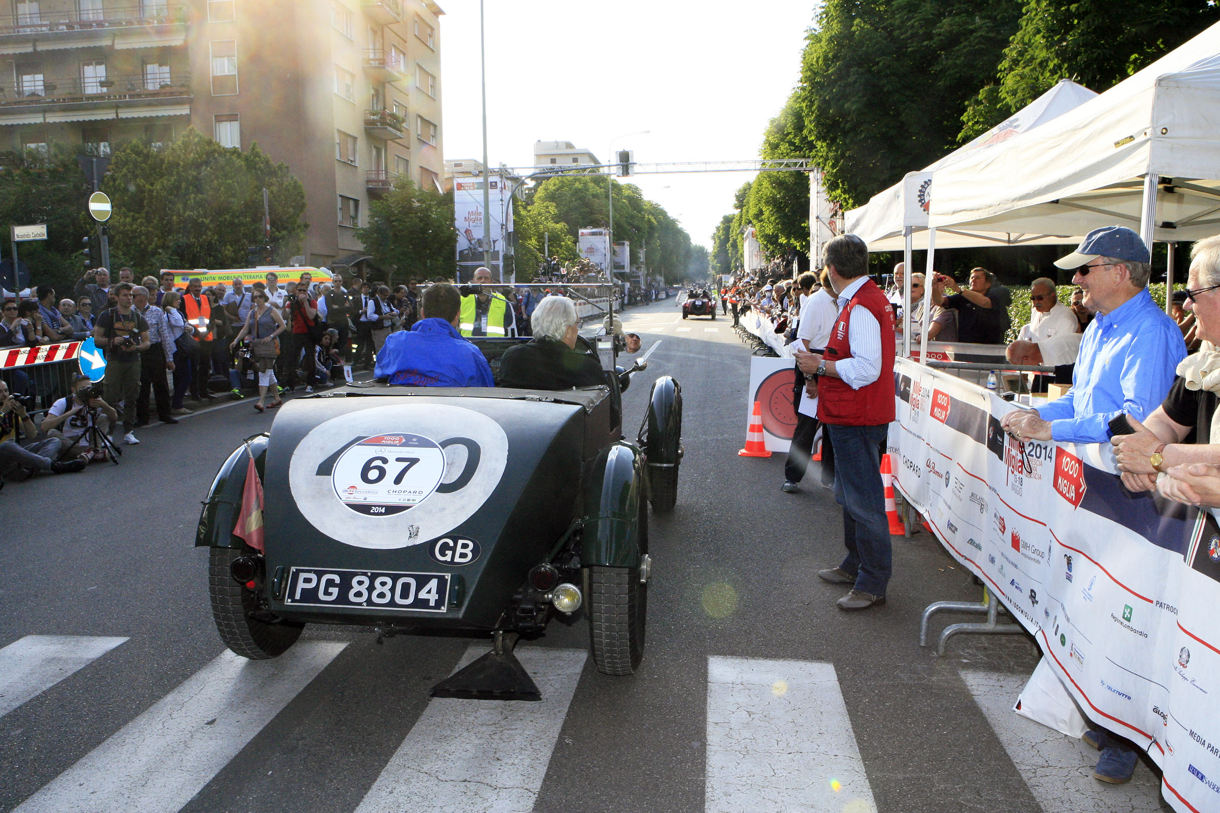 67 - LAQUEUR Macko (B) + SCHROIJEN Etienne (NL)  -Lagonda 2 Litre Team Car (1930)