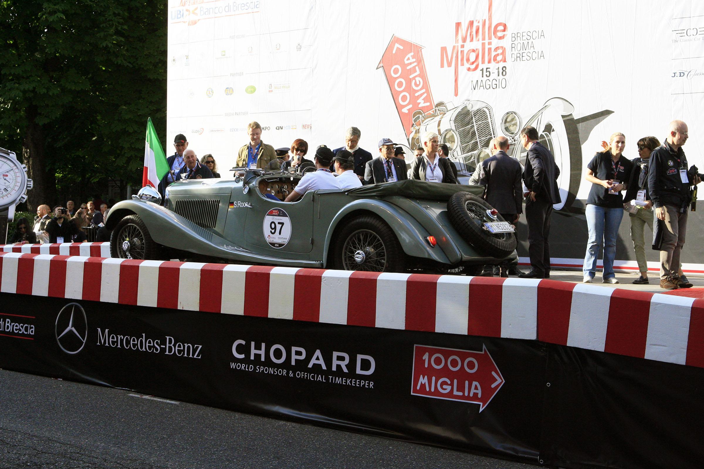 97 - ROOS Norbert (D) + ROOS Stephan (D) - Bentley 3.5 Litre Vanden Plas (1934)
