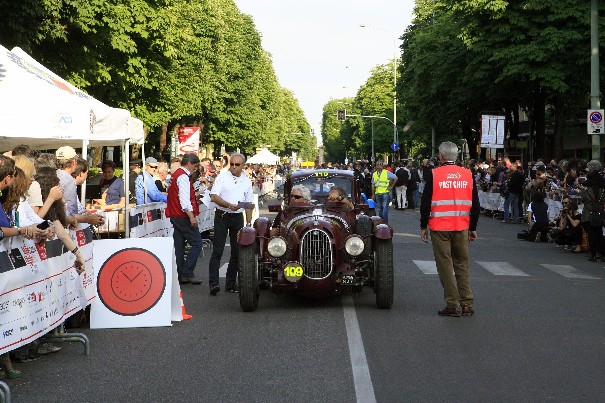 109 - VAN HAREN Frans( NL) - Alfa Romeo 8C 2900 A (1936) MM