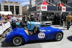 144 - HALL Rick (GB) + HALL Robert A. (GB) - Cisitalia 202 S MM Spider 1947