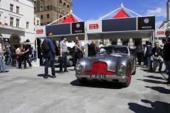 216 - VON MOZER Alex (NL) + STAPS Maarten (B) -  Aston Martin DB 2 Vantage (1951)