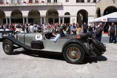 47 - WEBER Thomas (D) + BOCK Michael( D) - Mercedes-B. 710 SSK (1928)