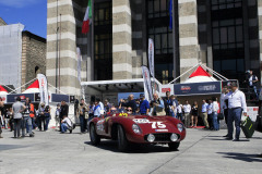 415 - SCHLAEWICKE Andreas (D) + SCHMIDT Bjoern (D) - Ferrari 500 TR spider Scaglietti  (1956)
