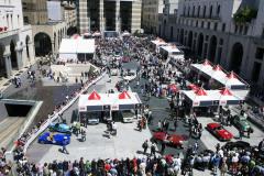 Bird view sealing area ; Piazza della Vittoria