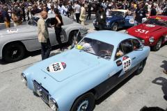 228 - GHYSELINCK Dorine (B) + VERSCHOORIS Veerle - (nu Zagato) FIAT 1100 E Coupé (1952)