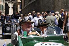 105 - BAHLMANN Arnold (D) + BAHLMANN Emma (D) - MG Midget Compressore (1936)