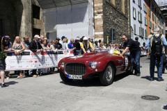 262 - ENGELHORN Kurt (D) + SEIDL Florian (D) - Ferrari 250 MM spider Vignale (1953)