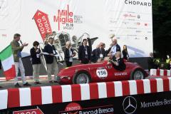 156  -CIBALDI Michele (I) + COSTA Andrea (I) - GilcoMariani FIAT 1100 Siluro (1948)