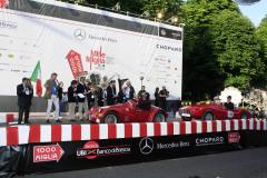 157 - DOMBROWSKY Rolf (D) + DOMBROWSKY Sascha (D) - FIAT 750 Sport (1937)