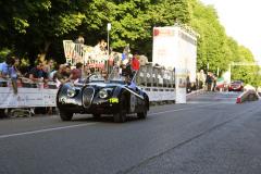 194  -RYBCZYNSKI Stefan (D) + STOHR Marcus (D) - Jaguar XK 120 roadster sports (1950)