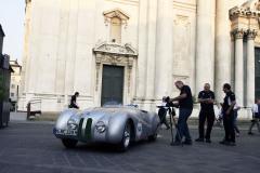 """146  - Alexander Bilgeri (D) + Scott Hughes (USA) -  BMW 328 """"Mille Miglia"""" (1939)"""