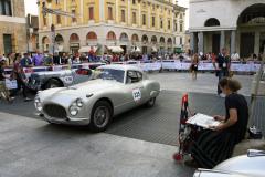 325 - Nicola Montevecchi (I) + Marco Forti (I) - FIAT 8V berlinetta (1954)