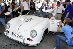 356 - Wolfgang Porsche (D) + Ferdinand Porsche (D) - PORSCHE 356 1500 Speedster (1955)
