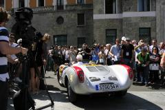 284 - Matthias Mueller (D) + Ulf Poschardt (D) - PORSCHE 550 Spyder - 1500 RS (1953)