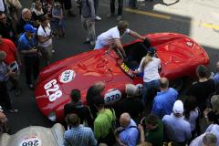 370 - Michael Roeder (D) + Dieter Roeder (D) - FERRARI 500 Mondial Spider Scaglietti (1955) MM