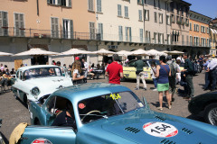 Mille Miglia town: Piazza Paolo IV