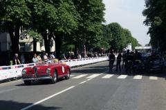 184 - Johan Lont (NL) + Anhild Lont-Kruimer (NL) - ALFA ROMEO 6C 2500 SS Cabriolet Pinin Farina (1949)