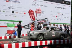 241 - Giuseppe Ricciardo (I) + Peter Bell (AUS) - ALFA ROMEO 1900 C Gara (1952)