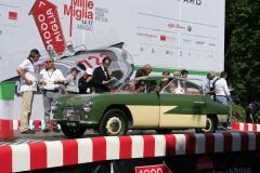 255 - Ton Ottevanger (NL) + Frank de Jong (NL) - ZAGATO FIAT 1100 E Berlinetta (1952) MM