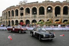 Verona: 448 - Peter Fodor (USA) + Mory Ejabat (USA) - ALFA ROMEO 1900 C Super Sprint Touring (1957)