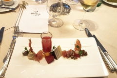 Day 0.  fine dining experience at Hotel Post (Lech)