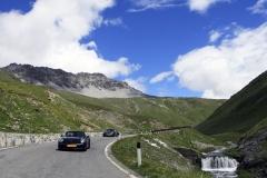 Leg 2, Passo dello Stelvio descent with waterfalls
